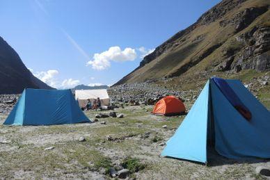 Yoga Trekking im Himalaya Indien