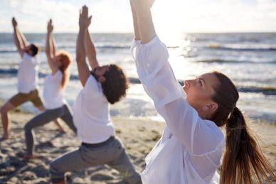 Wochenende Yoga und Meer im Strandhotel Baabe R&R Hotels & Villen Deutschland