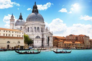 Idylle bei Venedig mit Fahrrad