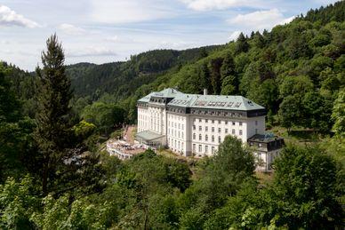 Kurhaus Radium Palace Tschechien