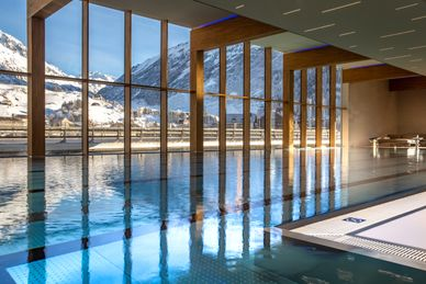 Wellness in den Alpen