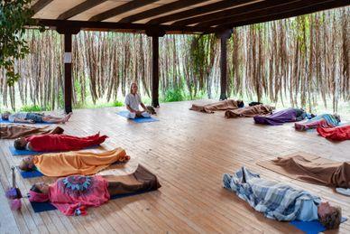 Yoga, Qi Gong und Meditation bei Iliohoos in Pilion Griechenland