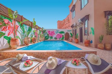 Majorelle City Center Riad & Spa Marokko