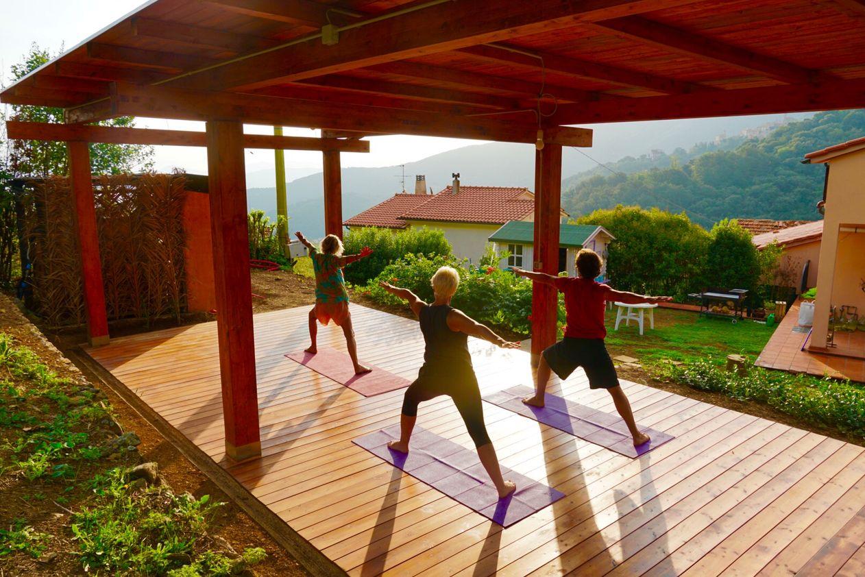 8 Tage Yoga in der Villa Shanti 04.10. - 11.10.2019
